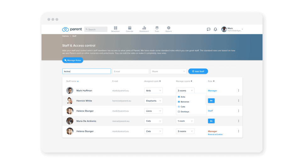 parent new features-dashboard